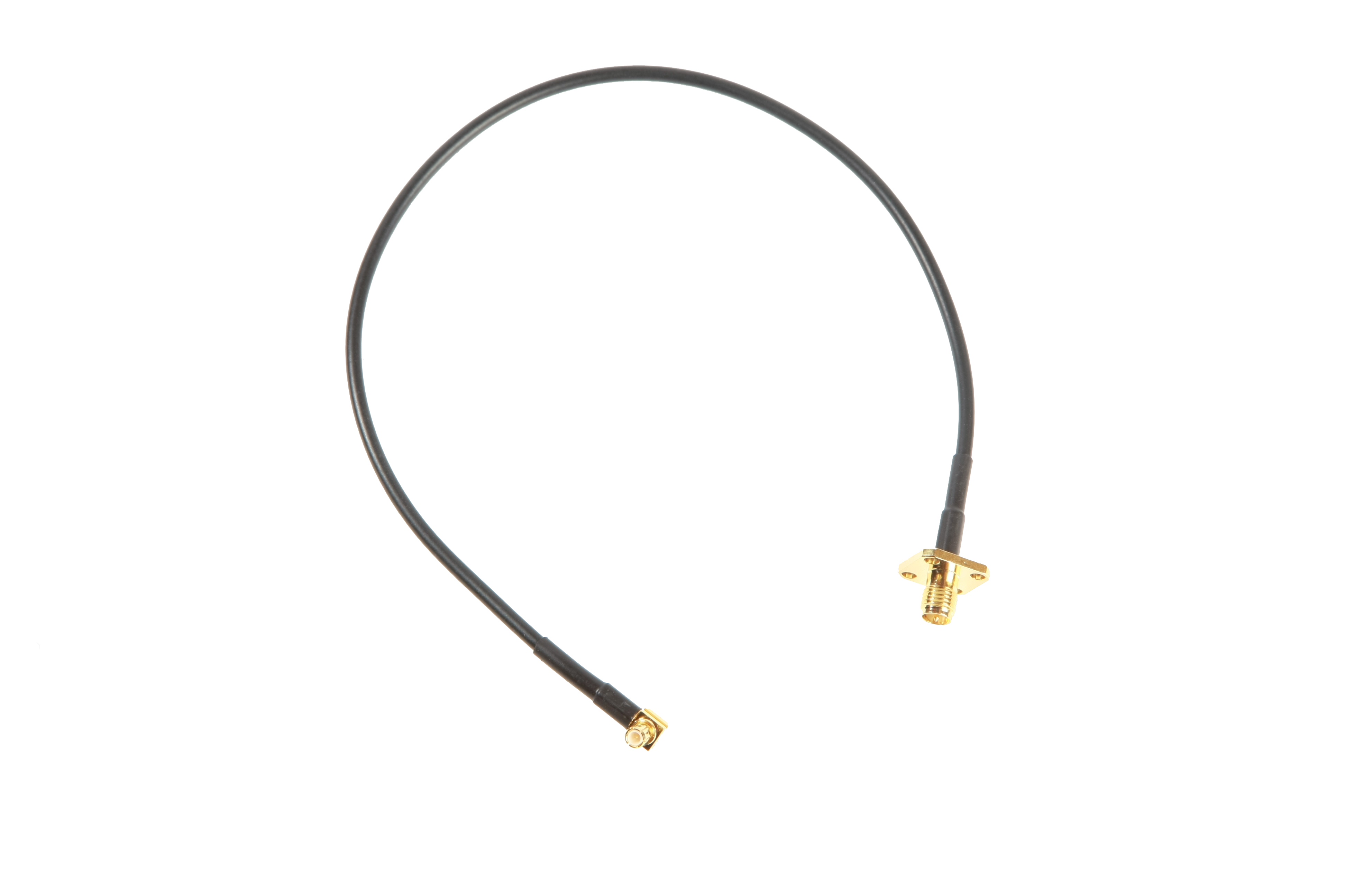 Antenna Cable MCX – RP-SMA Chassis Connector, 30 cm