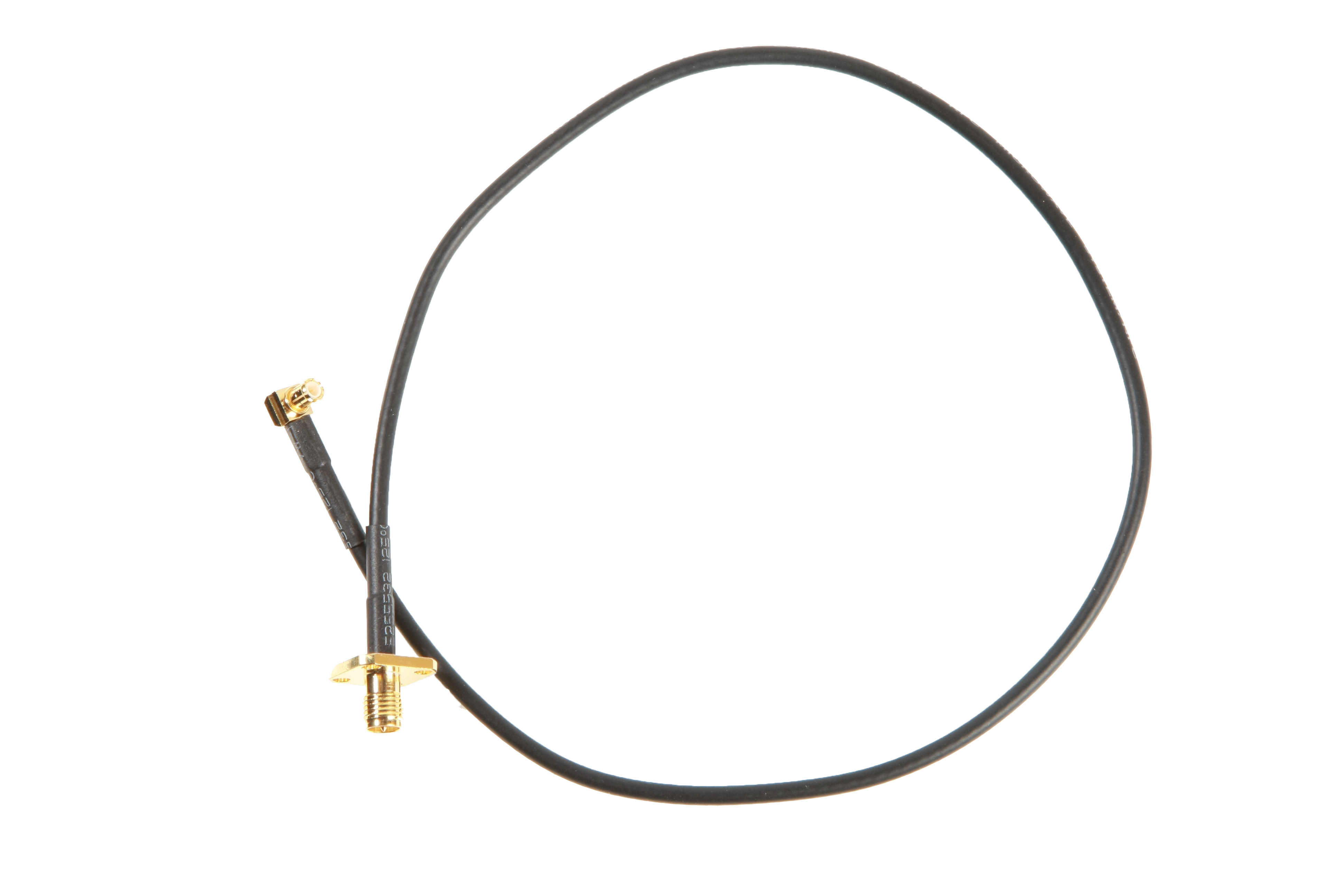 Antenna Cable MCX – RP-SMA Chassi Connector, 40 cm