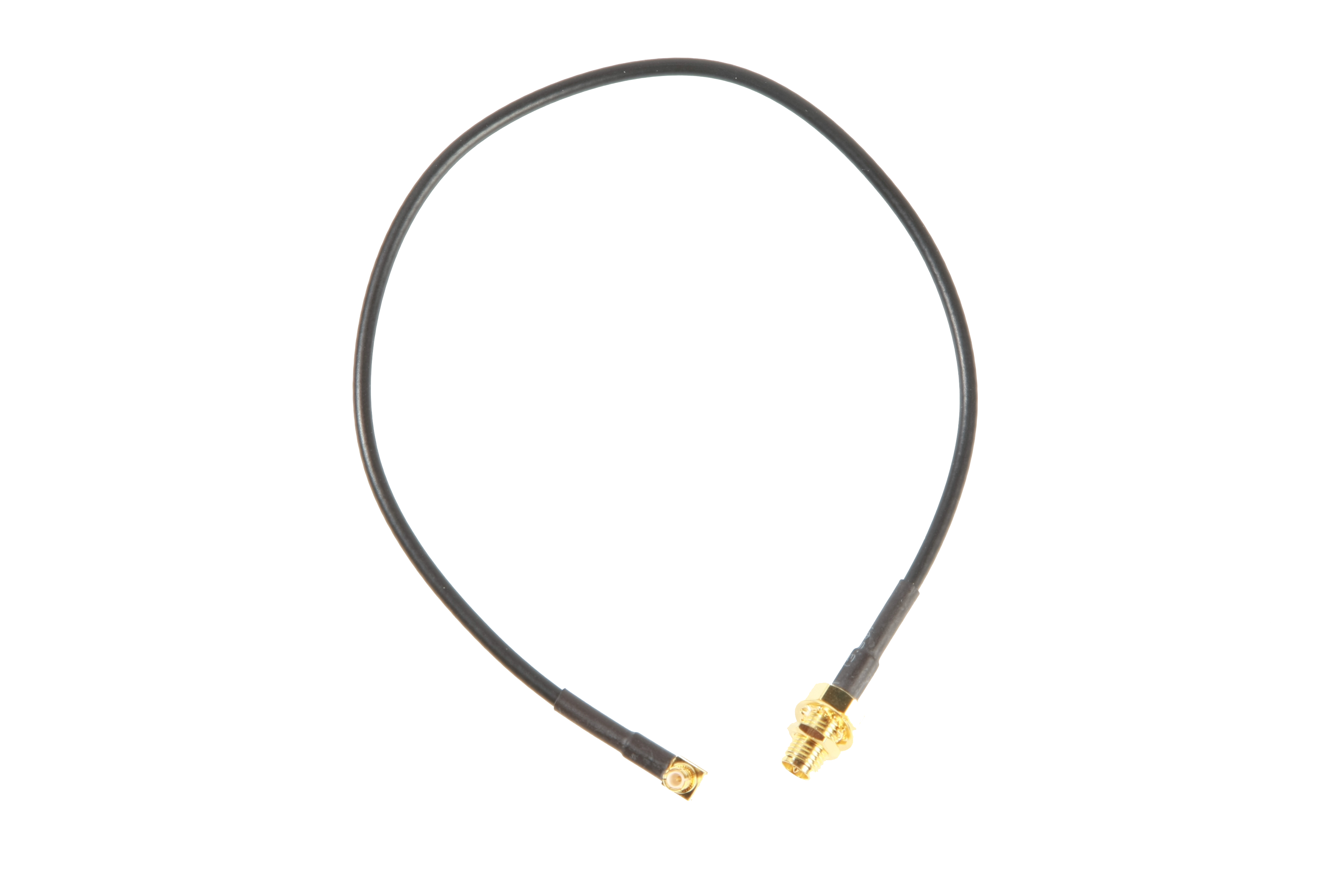 Antenna Cable MCX – RP-SMA Female Flange, 40 cm