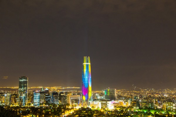 W-DMX™ Delivers Rock Solid Success to the Costanera Center in Chile