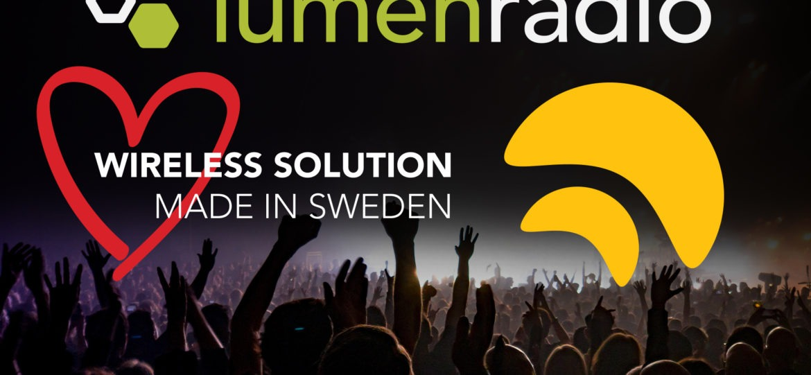 WIRELESS TECHNOLOGY PIONEERS LUMENRADIO AND WIRELESS SOLUTION JOIN FORCES!